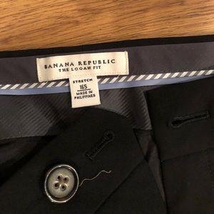 Black dress pants , Banana Republic size 16s